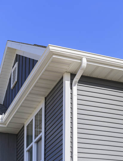 Roofing Contracting Work on Residential Downspouts
